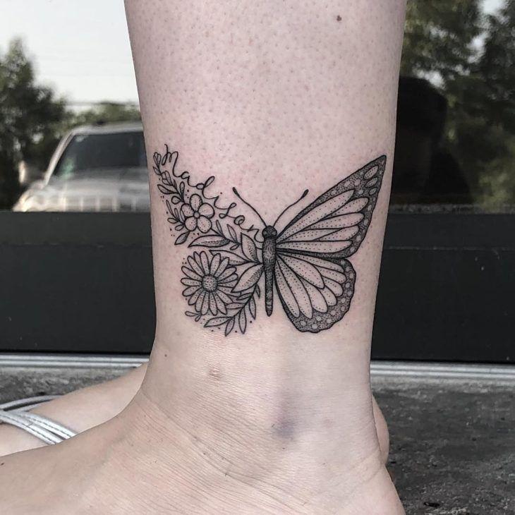 Tatuagem de borboleta: 200 ideias para ficar com vontade de tatuar | Tatuagem de borboleta