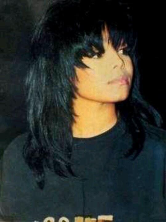 Janet Jackson Pleasure Principle Hairstyle