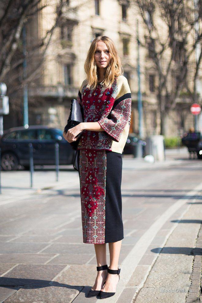 Уличная мода: Стиль Канделы Новембре