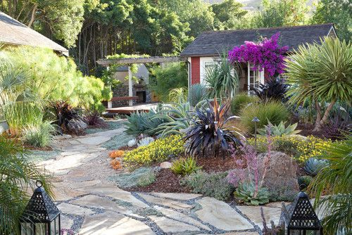 Mediterranean Garden Design, Pictures, Remodel, Decor and Ideas