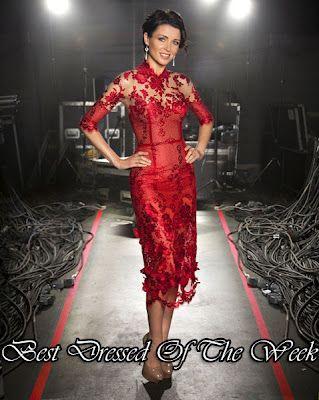 JDS - Red lace J'Aton dress