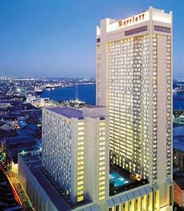 New Orleans Marriott, 555 Canal Street, New Orleans, Louisiana United States - Click 'n Book Hotels