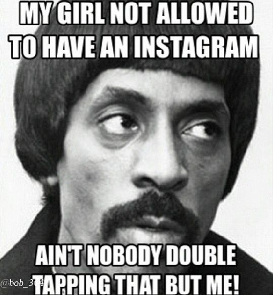 Lol Ike Turner meme (is it late enough to be non-PC? Hell, YES!)
