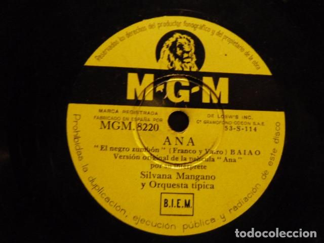 ANA -SILVANA MANGANO -NOCHE DE REYES -NORO MORALES Y ORQUESTA (Música - Discos - Pizarra - Bandas Sonoras y Actores )