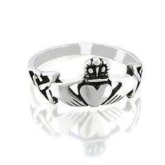 Bling Jewelry celtique irlandais Argent Sterling bague Claddagh Bling Jewelry http://www.amazon.fr/dp/B006C4BBD8/ref=cm_sw_r_pi_dp_DLyUwb0XA7333