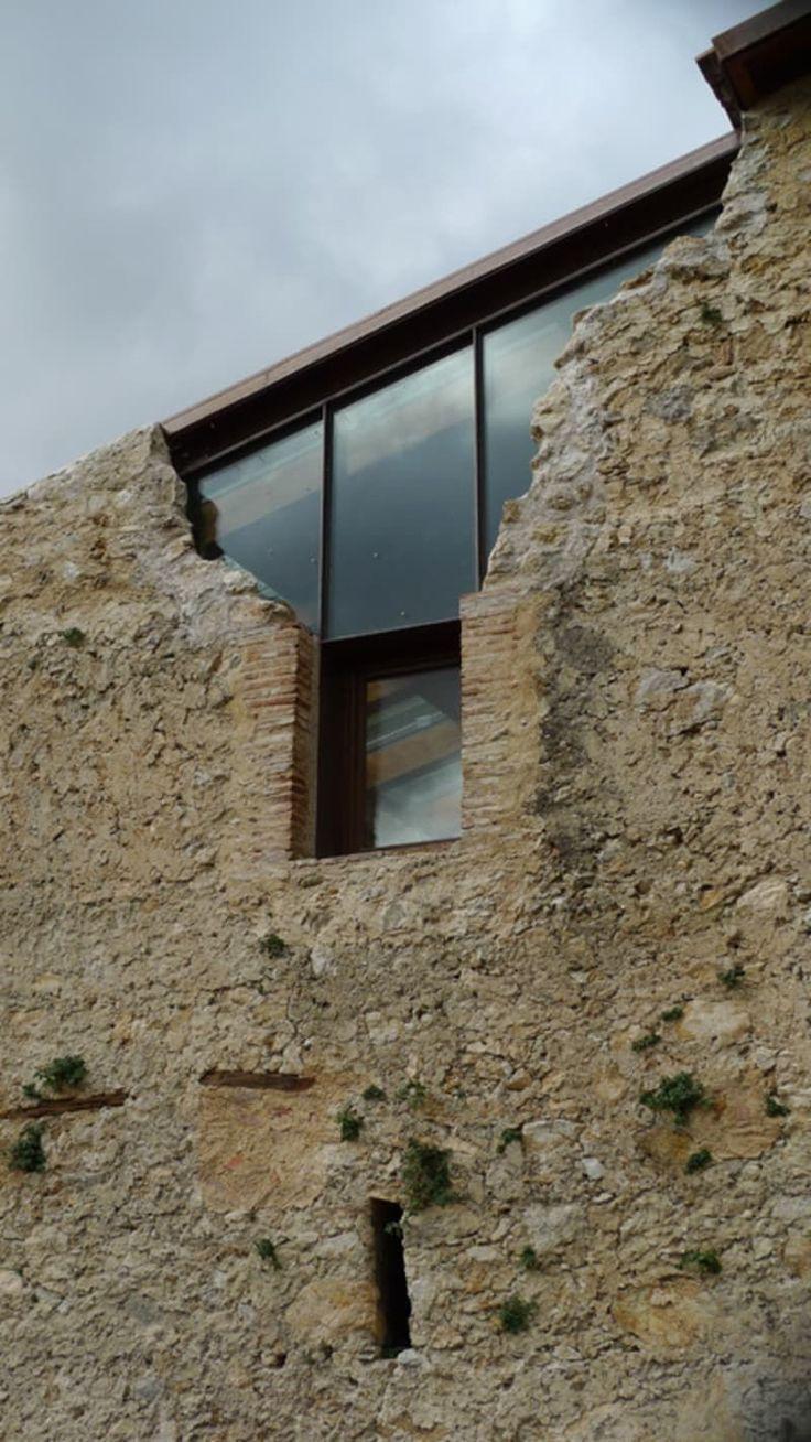 architektur glas stein schloss burg ruine #architecture #architecture #architect…
