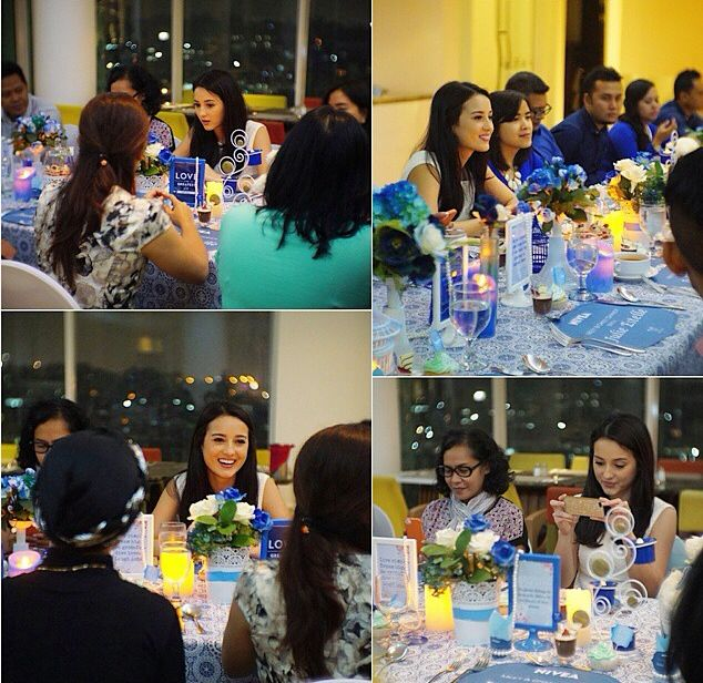 Julie Estelle meet and Great Dinner ... decoration by me...