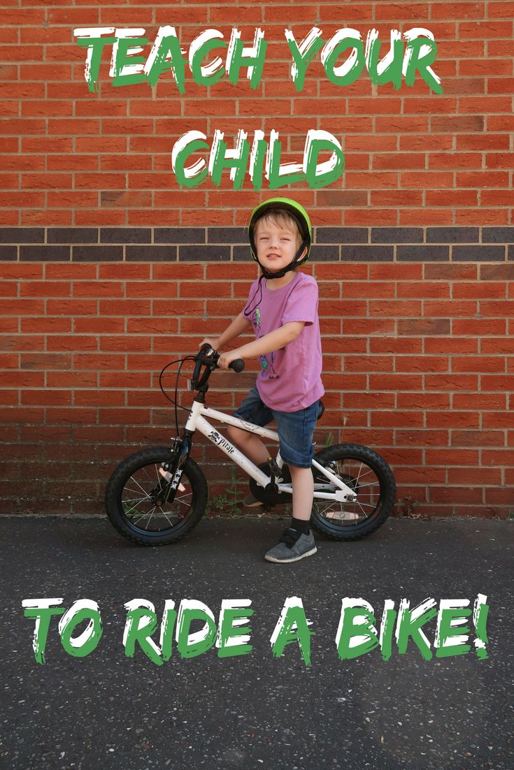 Teach Your Child To Ride A Bike In 3 Easy Steps Summer Crafts