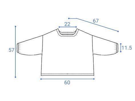 七分袖の直線ブラウスの無料型紙と作り方 七分袖のブラウスを作りました。 あきなし、襟ぐり以外すべて直線なので簡単です。 袖口はゴムを入れてふんわりしています。 ほかにも着用画像あります→ こちら サイズ 材料 ・布 幅110...
