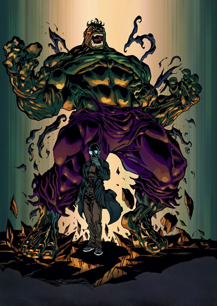 The Hulk (Dr. Bruce Banner) is a fictional character, a superhero in the Marvel…