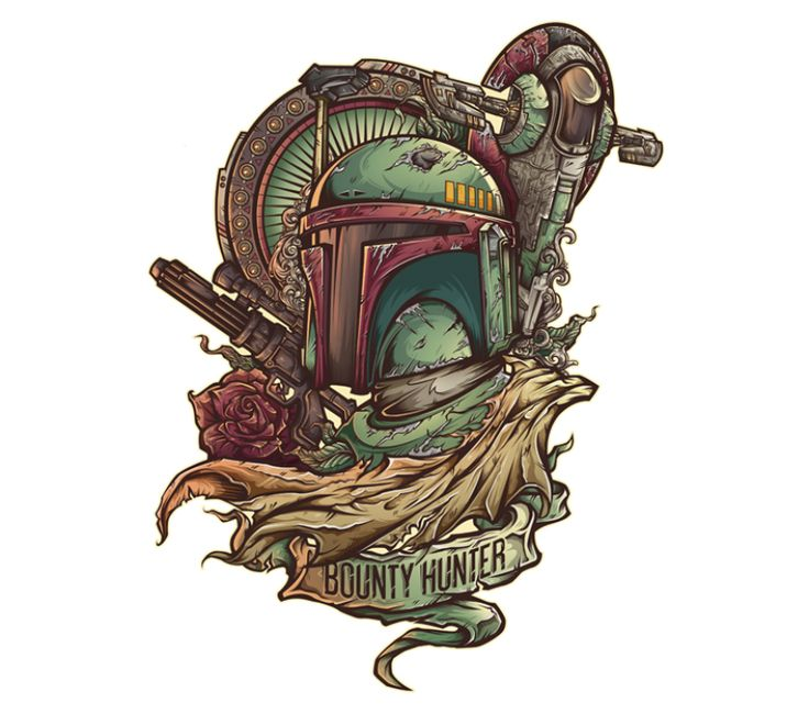Boba Fett May The 4th Be With You: 1000+ Ideas About Boba Fett Tattoo On Pinterest