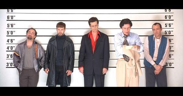 Hockney (Kevin Pollak), McManus (Stephen Baldwin), Fenster (Benicio Del Toro), Keaton (Gabriel Byrne) and Verbal (Kevin Spacey) in 'The Usual Suspe…   Pinteres…