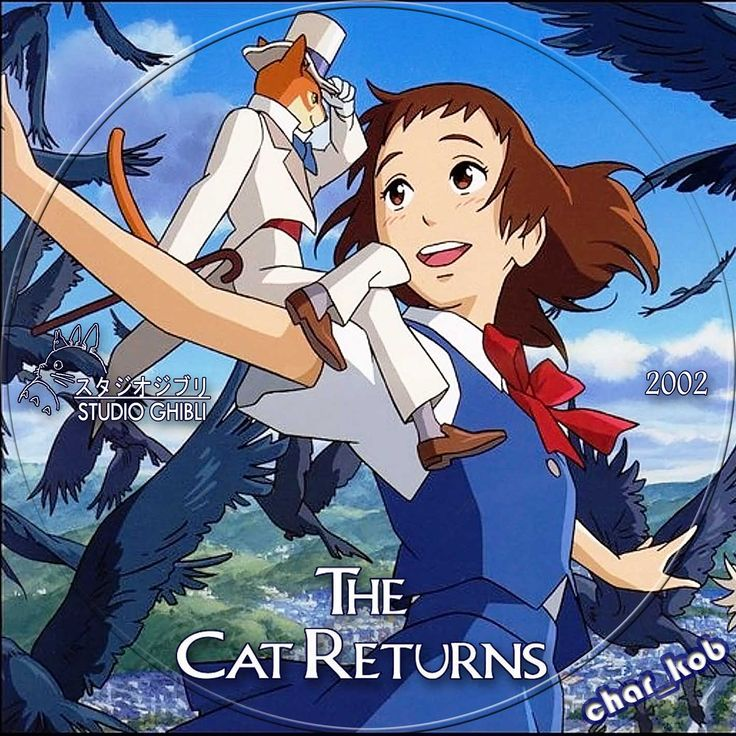 The Cat Returns by Hayao Miyazaki. 1 of my fave movies ever! Main voice actor for the English dub is Anne Hathaway