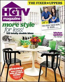 Subscription to HGTV Magazine
