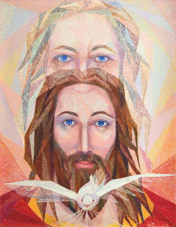 The Holy Trinity, God the Father, God the Son, God the Spirit