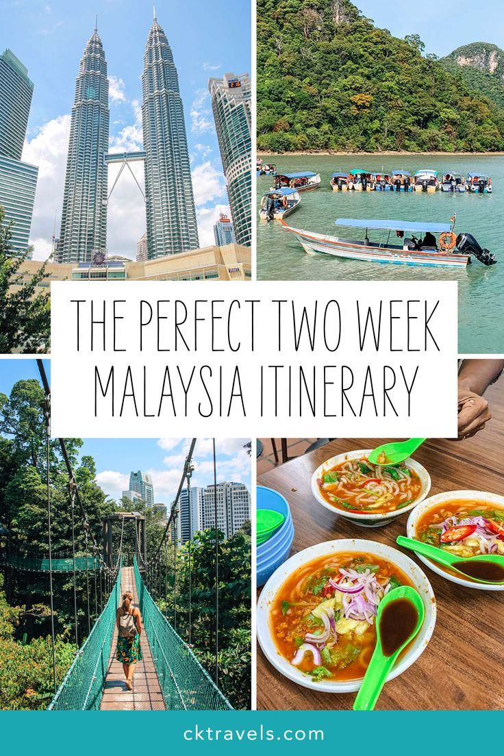 The Perfect 2 Week Malaysia Itinerary And Travel Guide In 2020