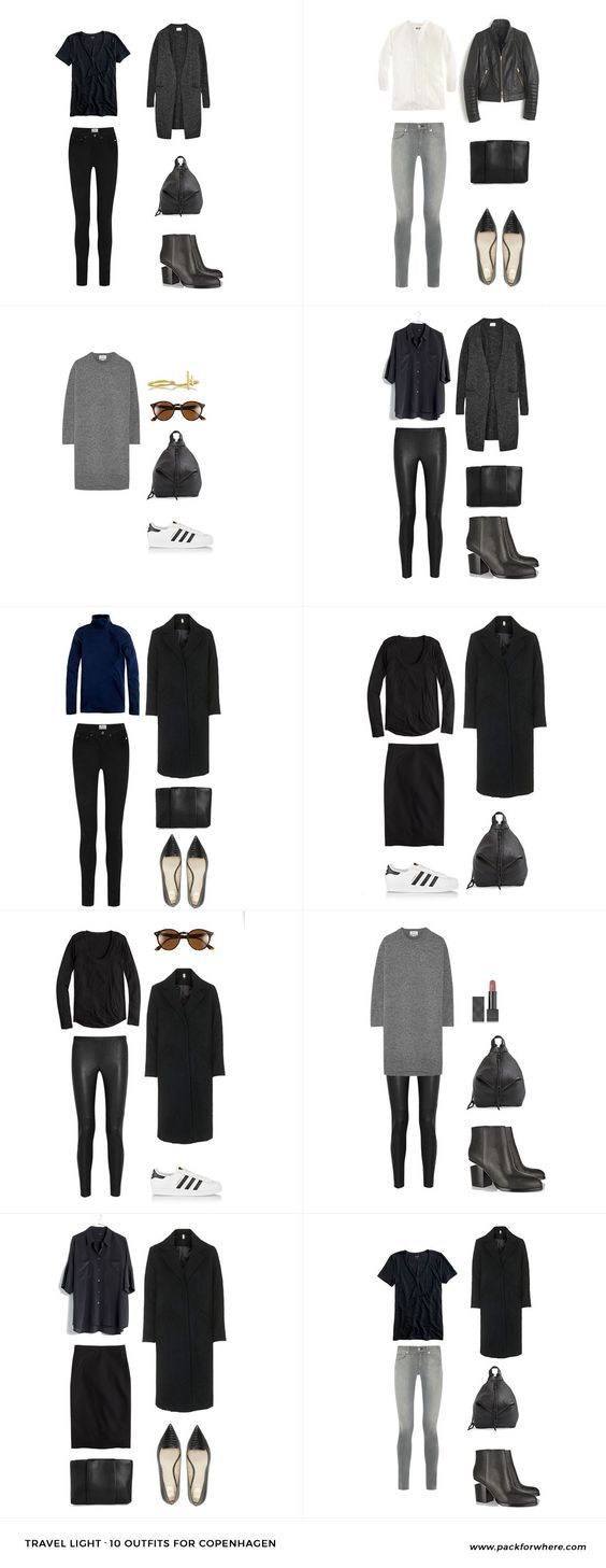 Copenhagen Fashion Style - Outfits lässig kombinieren *** What to wear in Copenhagen, Denmark. Pack for Copenhagen in the fall.