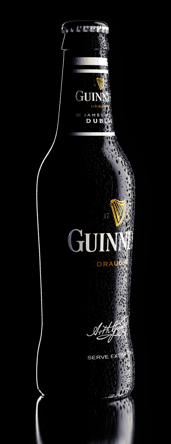 Tutorial lighting drinks and other product photography - Just Another Bottle 3d Visualization Product Photography Lightingirish