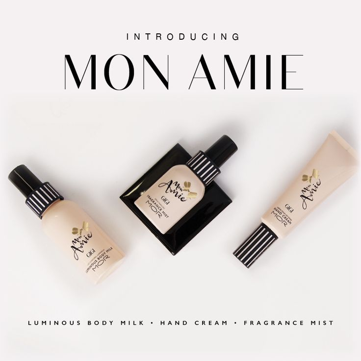 French Breton Stripes and elegant bows adorn for modern style on the go. Mon Amie is a purse-sized collection delivering sophisticated scents in trés chic packaging. Each Mademoiselle exudes a unique personality to suit your style.