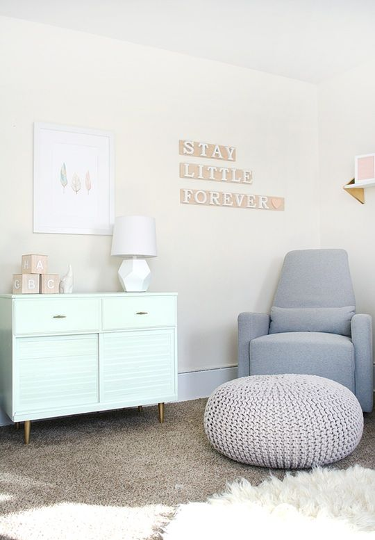 Bre's Calm & Relaxing Nursery — Favorite Rooms | Apartment Therapy
