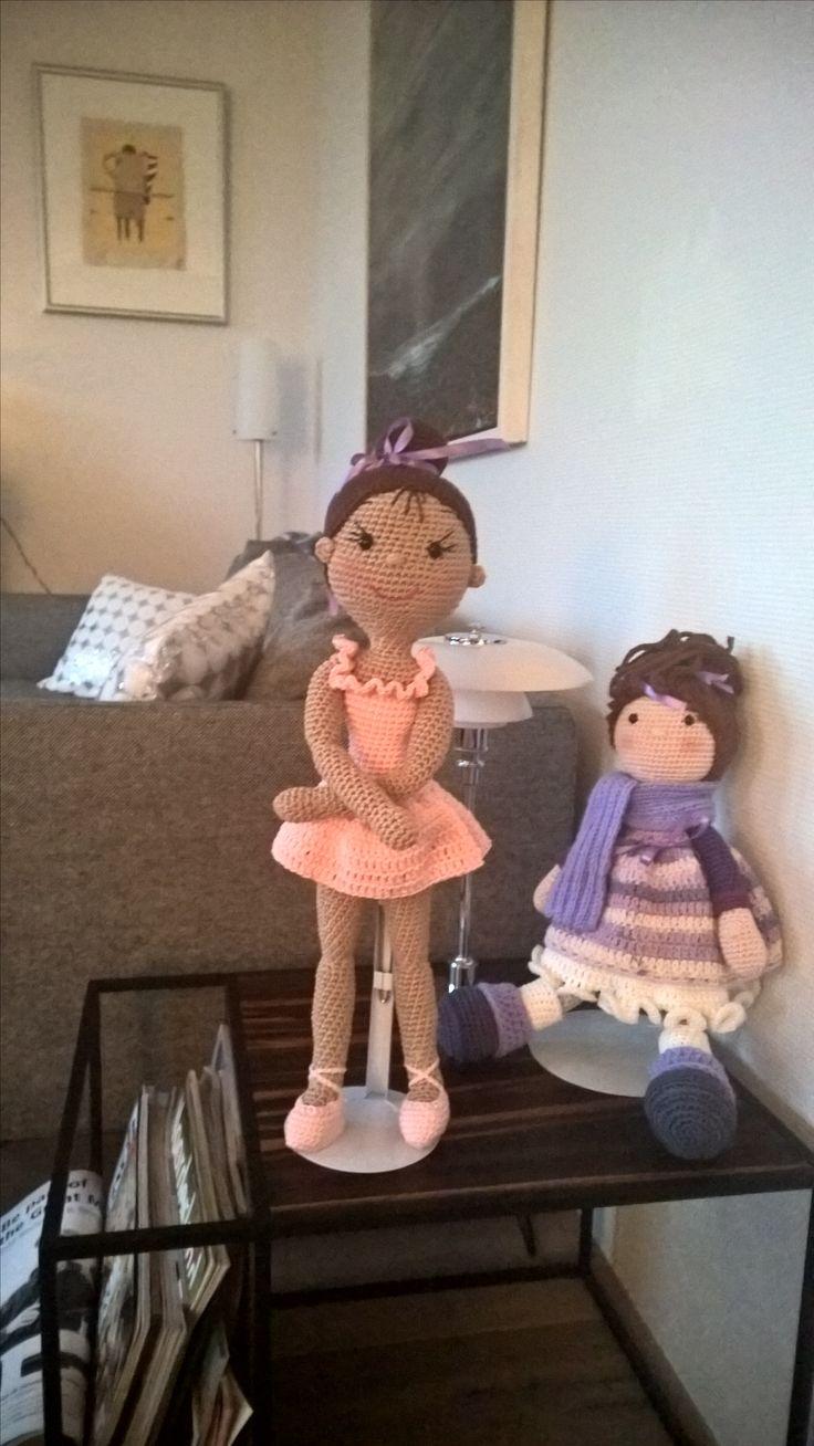 Ballerina en pop Mia