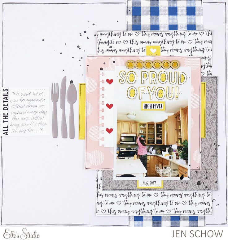 Stretching Your Supplies with Jen Schow | Elle's Studio Blog