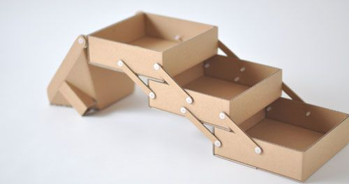 how to make a collapsible box