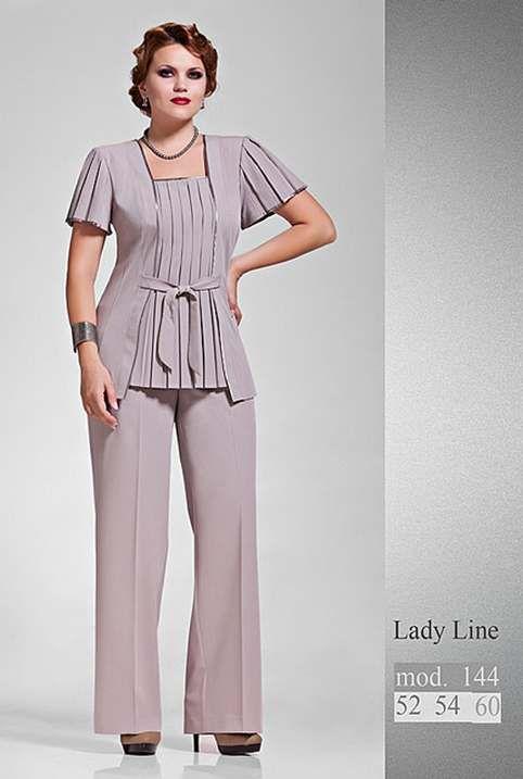 Костюмы для полных девушек и женщин белорусской компании Lady Line. Осень-зима…