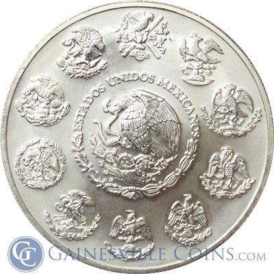 2001 2oz Mexican Silver Libertad http://www.gainesvillecoins.com/