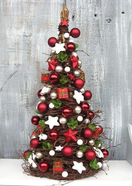 Необычные новогодние елочки) #своими #руками #рукоделие #лавка #творческих #идей #идеи #новый #год #DIY #lavkai #елочка