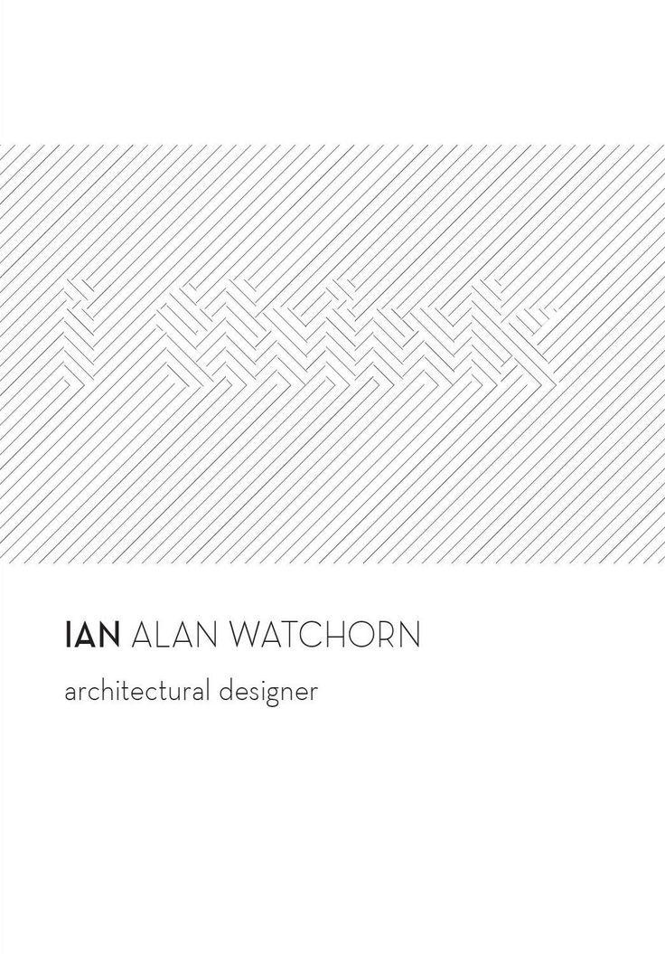 #ClippedOnIssuu from Ian Watchorn Portfolio