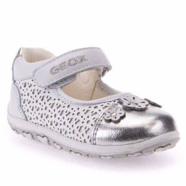 Geox Bubble White Silver