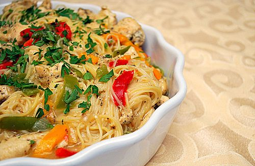 Chicken Scampi Inspired By Olive Garden 39 S Chicken Scampi A Nice Punch Of Garlic A Butter And