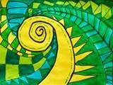 New Zealand koru designs