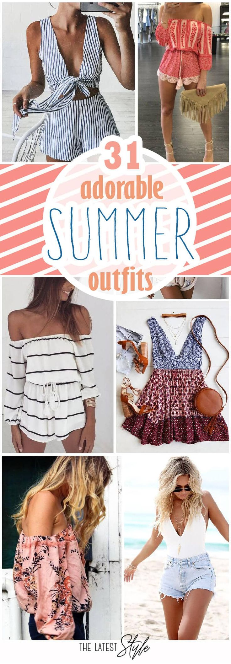30 süße Sommeroutfits – #Sommeroutfits – Outfits