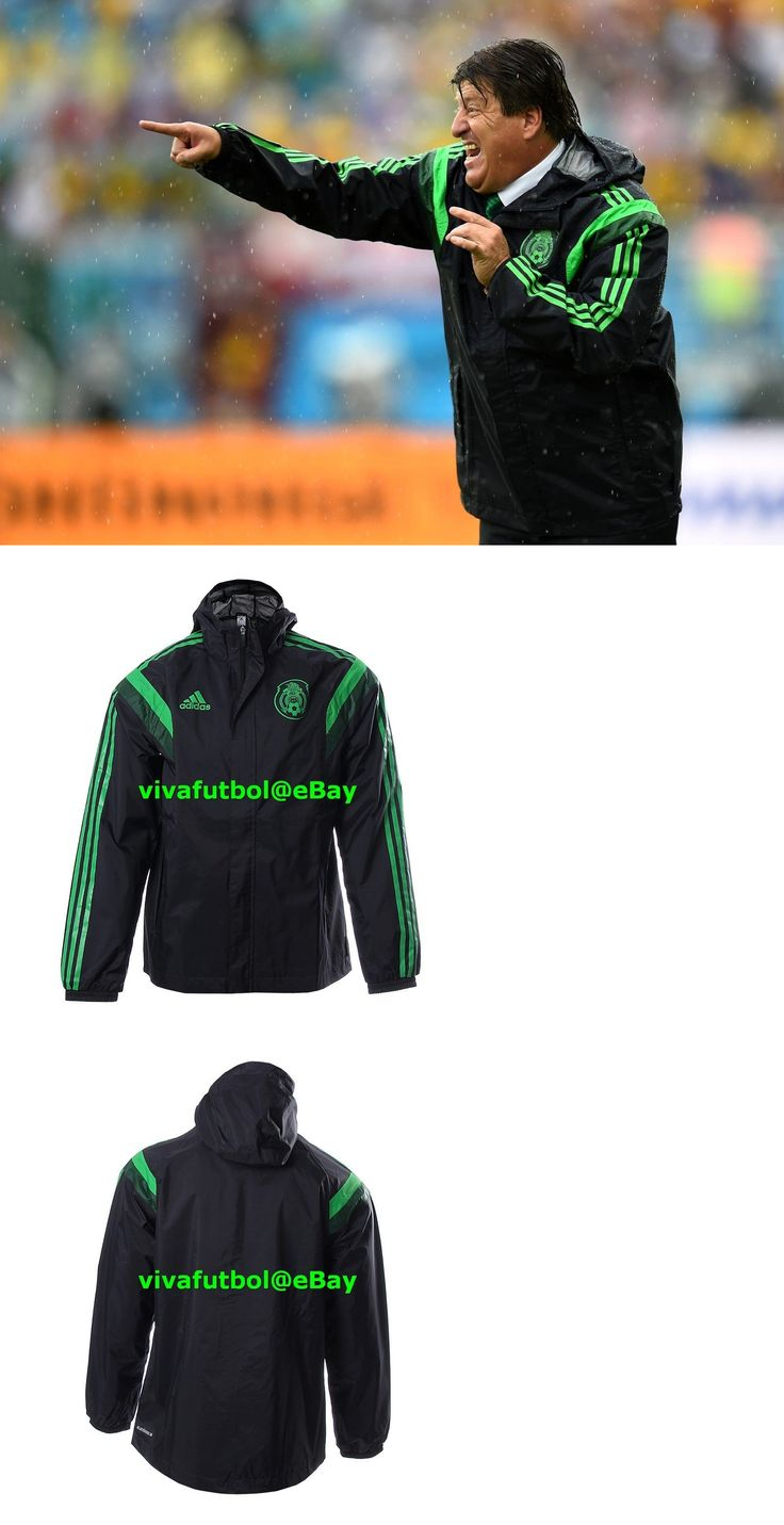 Soccer-National Teams 2891: New Adidas Mens Seleccion Mexicana Mexico Fmf Rain Soccer Player Jacket Xl -> BUY IT NOW ONLY: $149.95 on eBay!