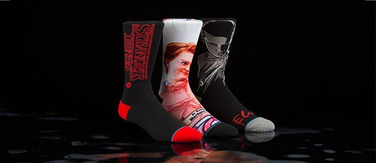 Stranger Things Socks by Stance
