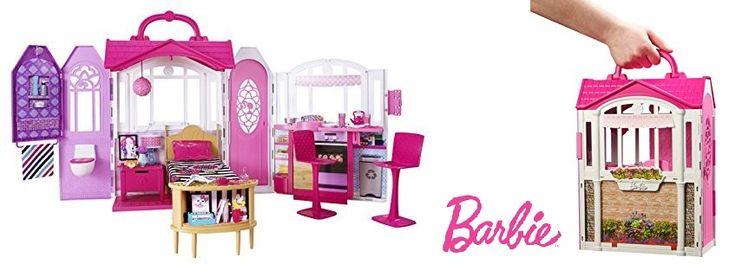 ¡Chollo! Barbie Casa de vacaciones portátil por 34.49 euros.