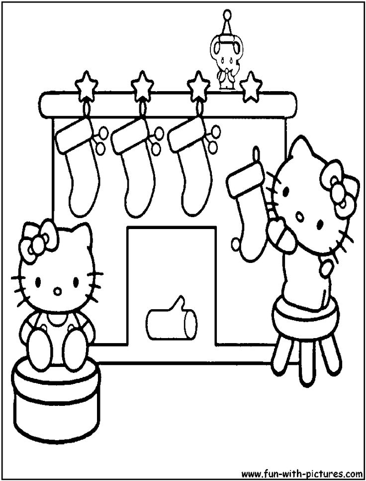 Www Christmas Coloring Pages Comcolorong Pages Hello Kitty Coloring Christmas Coloring Pages Hello Kitty Colouring Pages