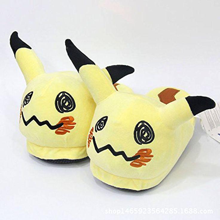 Mimikyu Plush Slippers! #shutupandtakemyyen #pokemon #mimikyu #pikachu #anime #nintendo #slippers #shoes #merch #merchandise #pokemonmerch #pokemonmerchandise #animemerch #animemerchandise #nintendomerch #nintendomerchandise