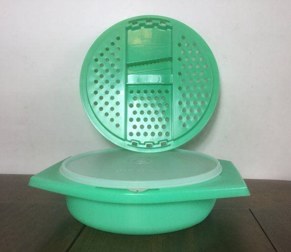 Tupperware Cheese Grater Green Grater Vintage Tupperware 3 Piece Grater Tupperware 1980 Bowl Grater Vintage Tupperware Vintage Tupperware Vintage Coffee Cups