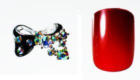 FF Nail Art Kit Κόσμημα A, Νο 3 (2 Τεμ.) Κοσμήματα Nail Art για μοναδικά nail design. Είναι κατάλληλα για τεχνητά νύχια (ακρυλικό και gel) καθώς και για σχέδια σε μόνιμο βερνίκι.  Το νύχι της φωτογραφίας είναι ενδεικτικό για να κατανοήσετε το μέγεθος του κοσμήματος και αντιστοιχεί σε ένα μεσαίο γυναικείο νύχι (δείκτης ή παράμεσος) μικρού μήκους. Αναλογία σε tip: 6-7 νούμερο. Τιμή €3.00