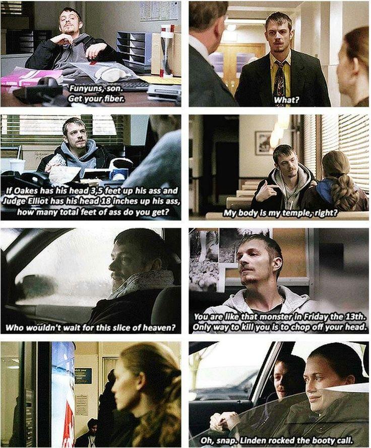 Detective Stephen Holder, The Killing