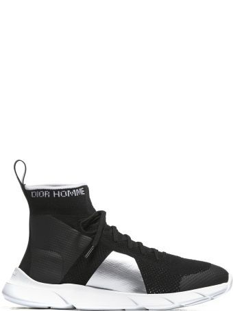 076f12a7be37 Dior High Ankle Sock Sneakers
