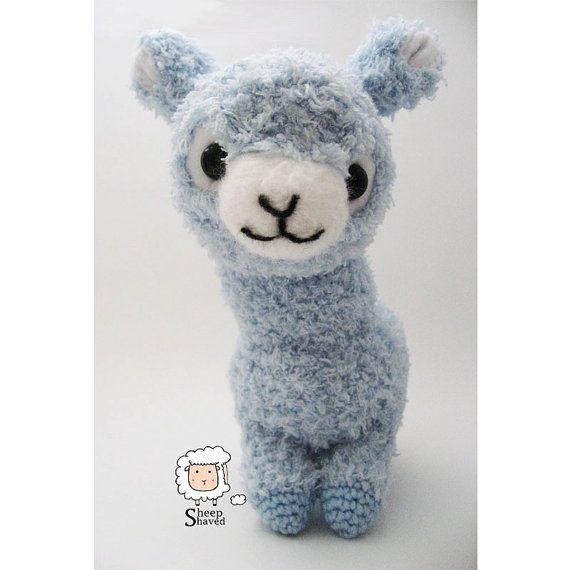 Crochet Llama Amigurumi Pattern : 1000+ images about Sheep Shaved Etsy on Pinterest ...