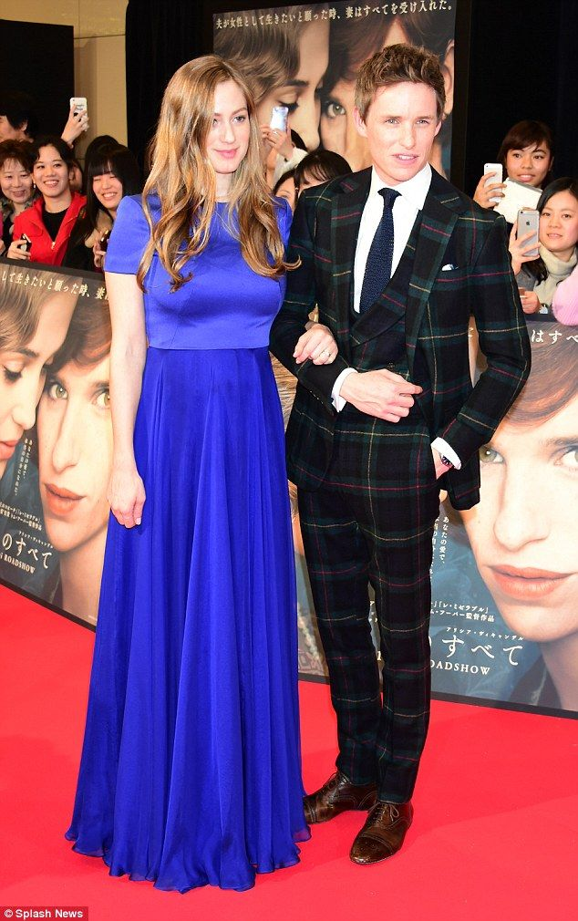 Beautiful in blue: The expectant publicist - whose ensembles during award season didn't seize to impress - once again nailed the evening's red carpet style in a floor-sweeping cobalt gown