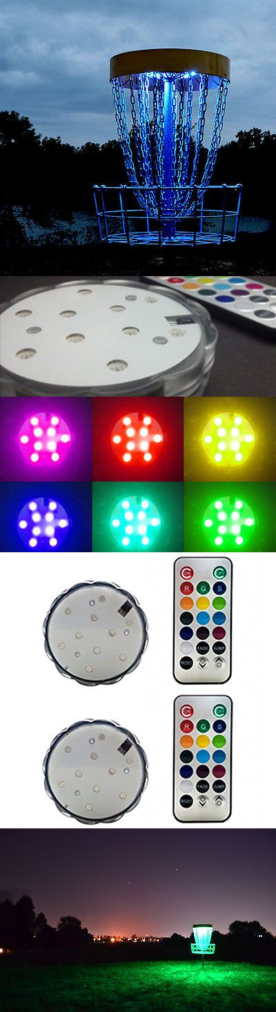 Other Team Sports 159133: Disc Golf 9 Hole Basket Course - 18 Pod Lights BUY IT NOW ONLY: $199.95