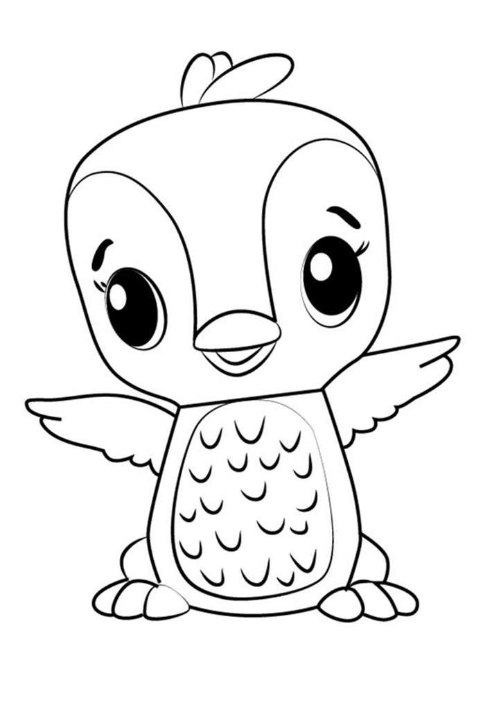 Hatchimals Coloring Pages Coloring pictures for kids