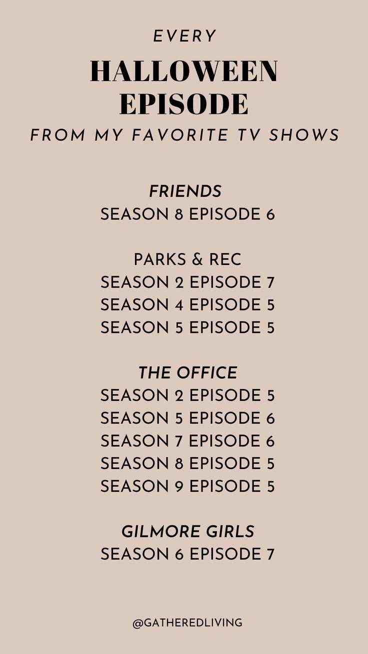 Television Episode Halloween 2020 Jokes List in 2020 | Halloween episodes, Friends best episodes