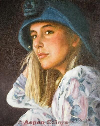 Denise Henley - V - Casual in Blue - Masterpiece Online
